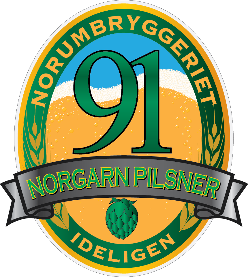 Norgarn pilsner - en øl fra Norumbryggeriet