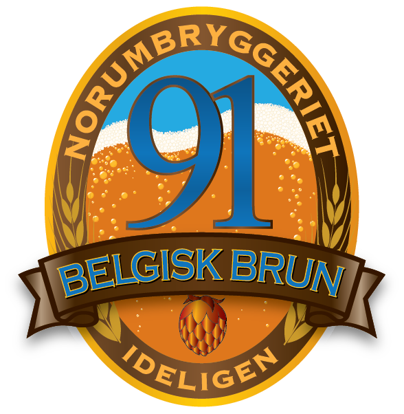 Belgisk brun - en øl fra Norumbryggeriet